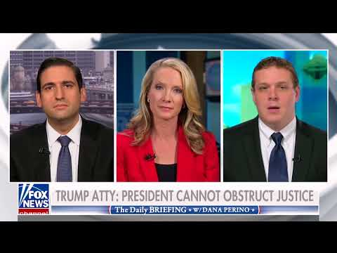 Guest on Fox News Channel - The Daily Briefing with Dana Perino - Discussing Obstruction of Justice