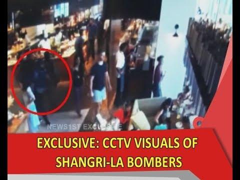 Exclusive: CCTV footage of Shangri-La Hotel bombers