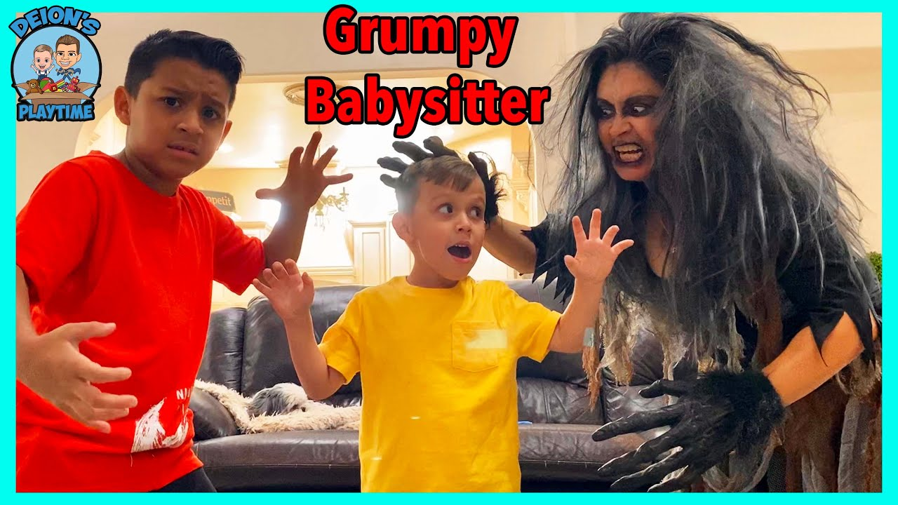 Download The Grumpy and Mean Babysitter   Deion's Playtime
