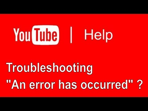 Troubleshooting tips for An error occurred, please try again later ✔