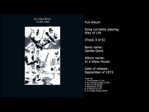 Gentle Giant - In a Glass House (Full Album)