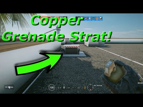 Copper Grenade Strat In Ranked! Road To Diamond - Rainbow Six Siege Highlights And Funny Moments