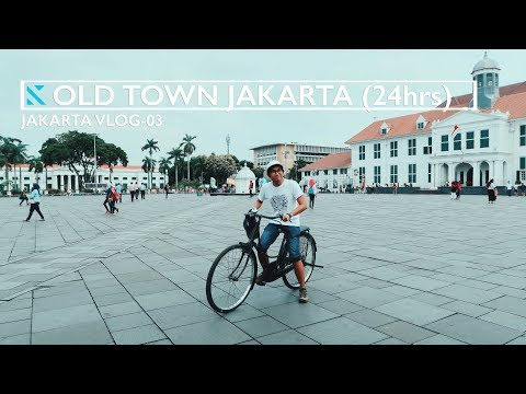Jakarta Vlog 03: Touring around Old Town Jakarta (things to do for 1 full day in the city)