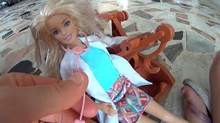 Barbie boneca Médica Sereia Peppa Pig Elsa Frozen Relâmpago McQueen Mate Cars