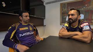 In Skipper's Shoes - EP03 | Dinesh Karthik with Robin Uthappa | KKR | VIVO IPL 2018