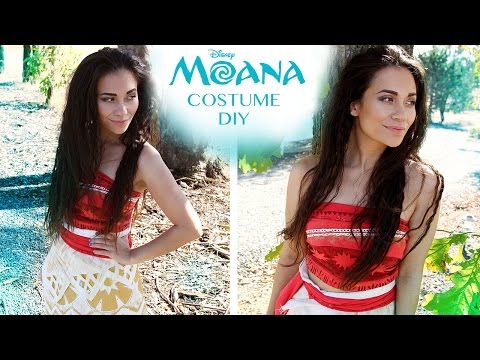 Disney's Moana Costume Tutorial DIY & No Sew