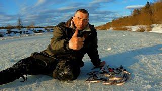 Последний лёд Удачное закрытие сезона Зимняя рыбалка на Угре