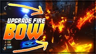 Black Ops 3 Der Eisendrache Fire Bow Upgrade! Der Eisendrache Fire Bow Upgrade Tutorial! (BO3 BOWS)
