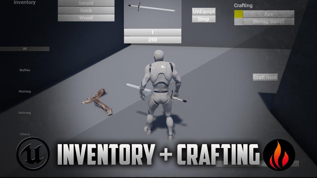 unreal engine 4 inventory