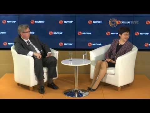 Reuters Newsmaker with Carrie Lam, Chief Executive HK – Q&A session