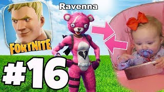 PLAYING FORTNITE WITH MY DAUGHTER! - Fortnite Battle Royale #16 - *SHE CAN ACTUALLY PLAY!*