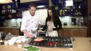 Southwest Hot Chefs And Restaurants Tm, Tia's Cocina - Making Modern Chile Relleno, Part 2