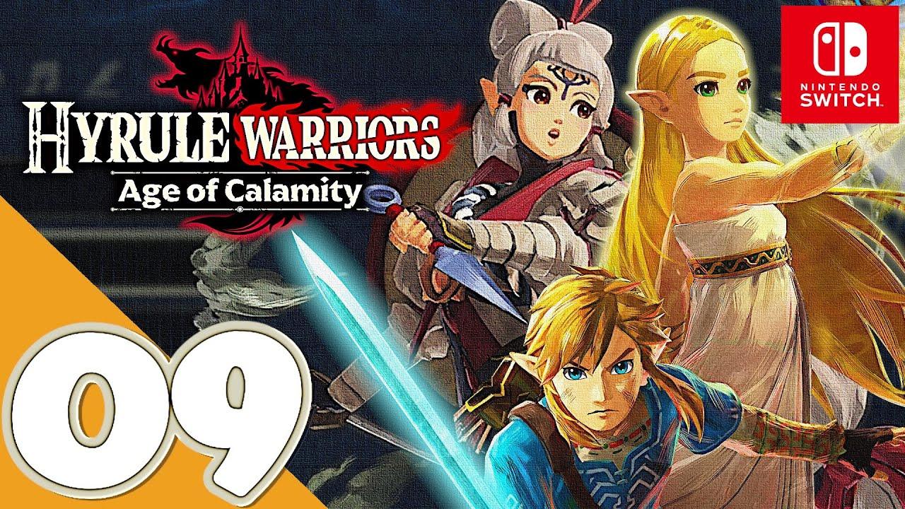 Hyrule Warriors Age Of Calamity Switch Gameplay Walkthrough Part 9 Terrako Calamity Ganon Youtube