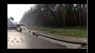 SHOCKING VIDEO -  TERRORIST`S AMBUSH. BTR-80 APCs IN ACTION.