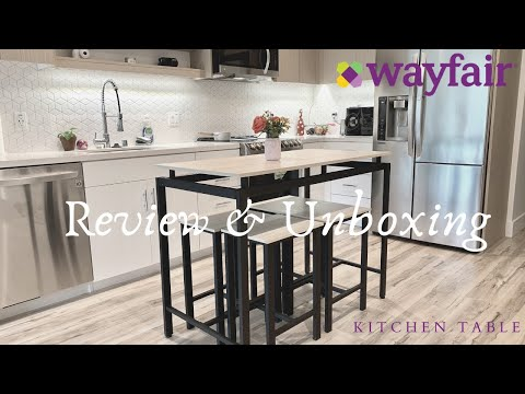 Wayfair Table | Review & Unboxing