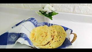 خبز الشباتي الهندي(براتا)