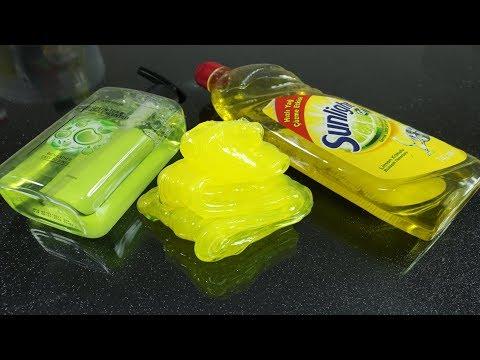 Dish Soap Hand Soap and Sugar Slime, No Glue No Salt No Baking Soda No Borax