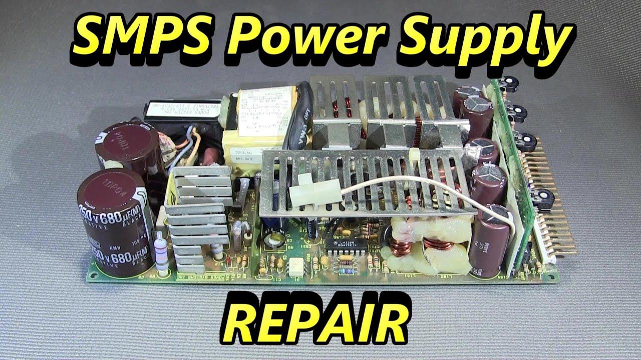 Switch Mode Power Supply Schematic Power Supply Repair