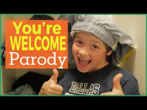 """""""You're Welcome"""" 