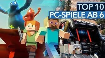 Top 10 PC-Spiele ab 6 Jahren -  Die besten PC-Spiele für Kinder