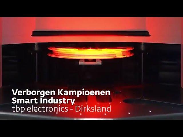 tbp electronics - Verborgen Kampioenen Smart Industry 2017