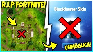 😡 R.I.P FORTNITE... 😡 WHAT HAVE YOU MADE? | IMPOSSIBLE CHALLENGE (BLOCKBUSTER SKIN)