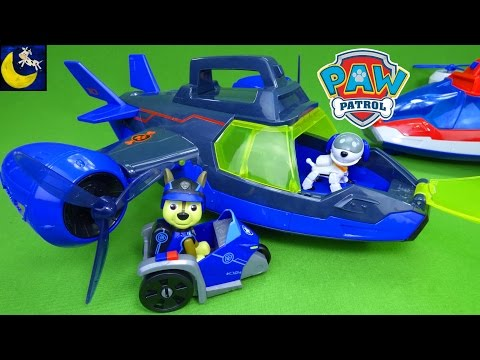 NEW Paw Patrol Mission Paw Air Patroller Toys Air Rescue Chase Marshall Rubble Zuma Rocky Skye Toys