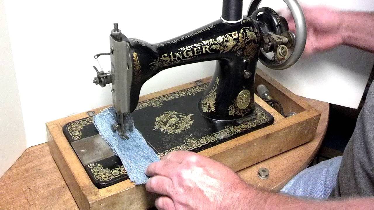 Rare Antique 1906 Singer 15 30 Treadle Only Sewing Machine