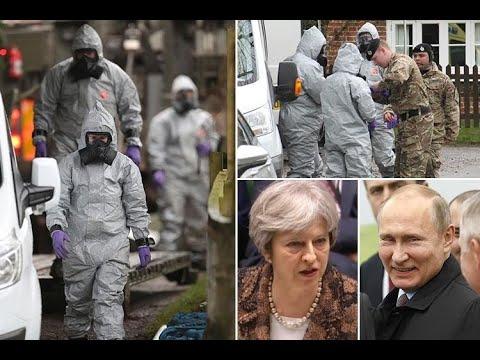 Theresa May gives Vladimir Putin 24 hours to explain Salisbury spy attack