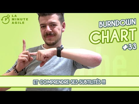 Burndown Chart Scrum - La Minute Agile Scrum #33