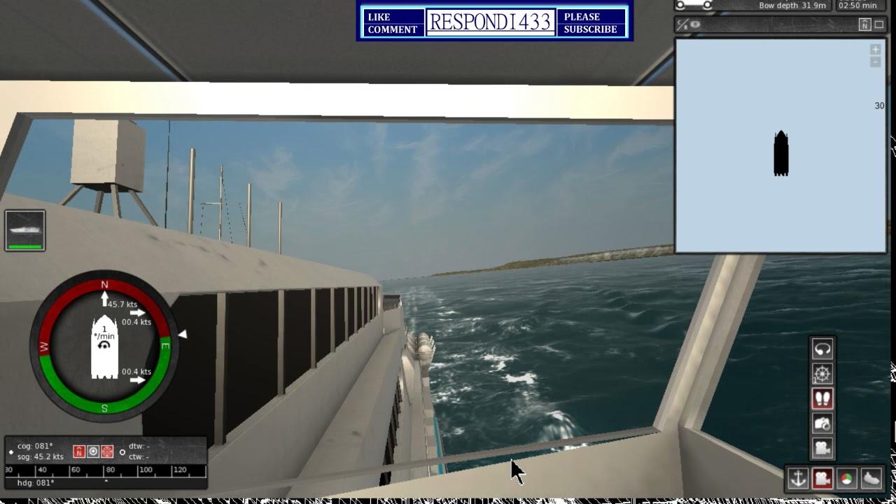 Extremes ship simulator