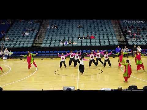 Kripalaya Dance Academy Performance for Harlem Globe Trotters - BOK CENTER Tulsa - 2018