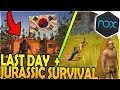 LAST DAY ON EARTH SURVIVAL + JURASSIC SURVIVAL BR at THE SAME TIME! ( LDoE 1.8.6 Nox Gameplay)