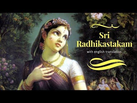 Sri Radhikastakam