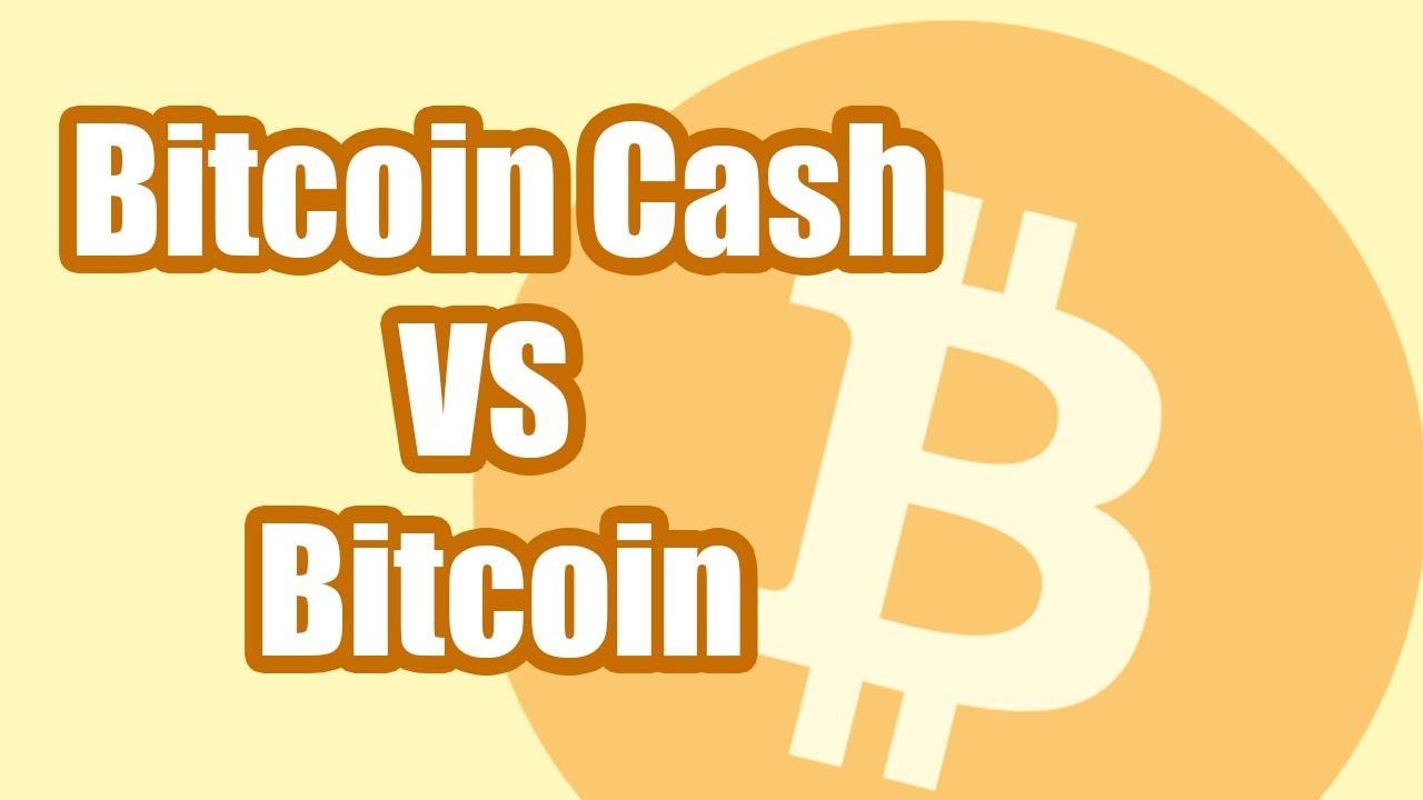 BITCOIN CASH VS