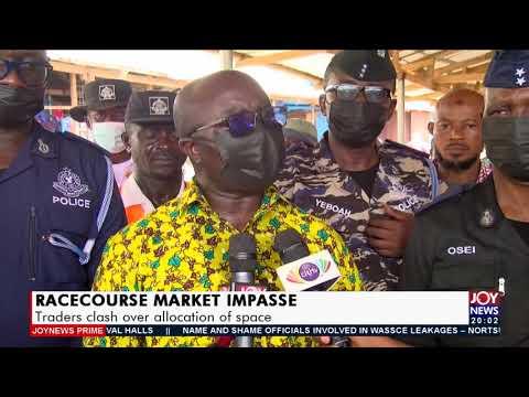 Racecourse Market Impasse: Traders clash over allocation of space - Joy News Prime (16-9-21)