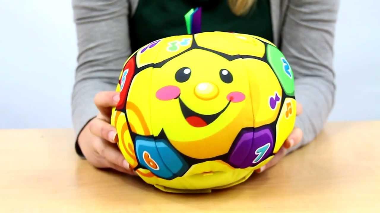 Singin' Soccer Ball  / Śpiewajaca Piłka Nożna - Laugh & Learn - Fisher Price - www.MegaDysk
