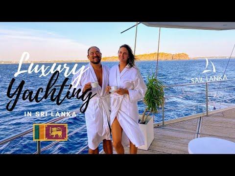 Yacht Life | Sailing in Luxury | Trincomalee | Sri Lanka ????????
