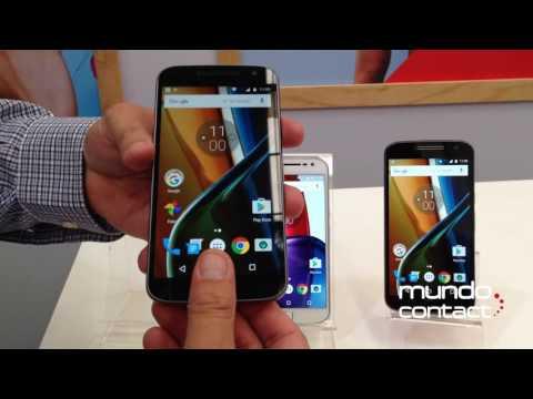 Demo del nuevo smartphone MOTO G4 Plus de Motorola