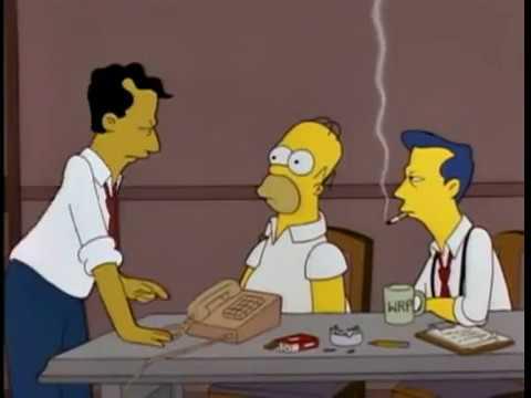 Los Simpson - Hola señor Thompson - YouTube