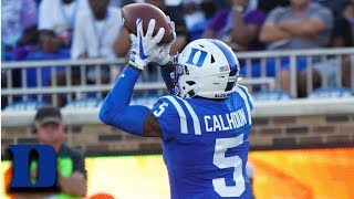 Duke's Jalon Calhoun Highlights vs. North Carolina A&T