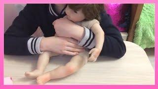 Обложка на видео - Мой НОВЫЙ Реборн с Алиэкспресс (Полный Обзор и Распаковка)