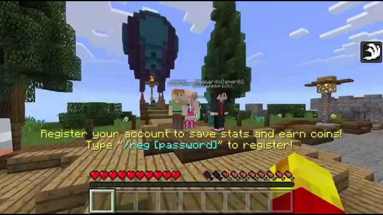 Minecraft Pe Server Build Battle