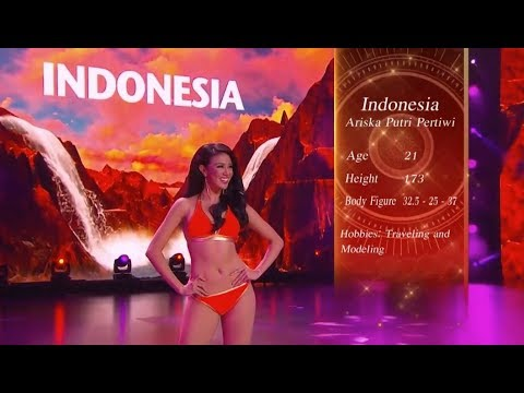 The Best Swimsuit Catwalk Ariska Putri Pertiwi Miss Grand International 2016