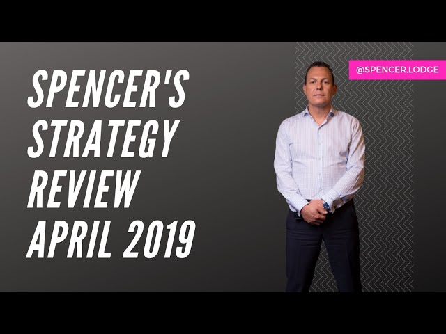 MY STRATEGY REVIEW APRIL 2019