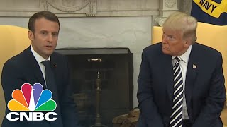 President Donald Trump: Will Discuss Iran, Climate Deals With Macron | CNBC