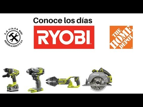 Conoce los Días Ryobi de Home Depot