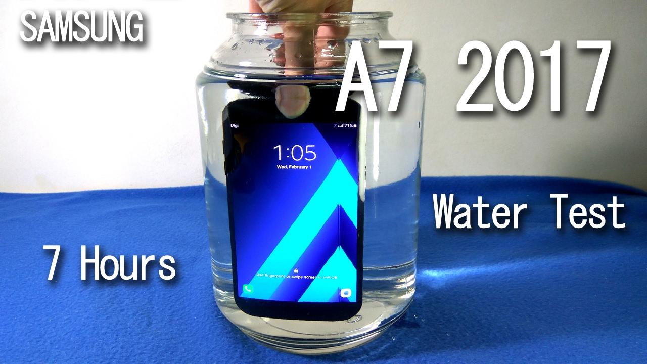 the best attitude e3e8c b3c8a Samsung Galaxy A7 2017 Water Test - 7 Hours