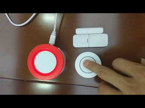 DIY Home Security Systems-Eray T1 Wi-Fi Home Alarm Systems TUYA Smart Life