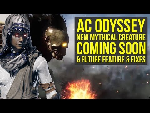 Assassin's Creed Odyssey Mythical Creatures - NEW BOSS COMING SOON & More News! (AC Odyssey Update)
